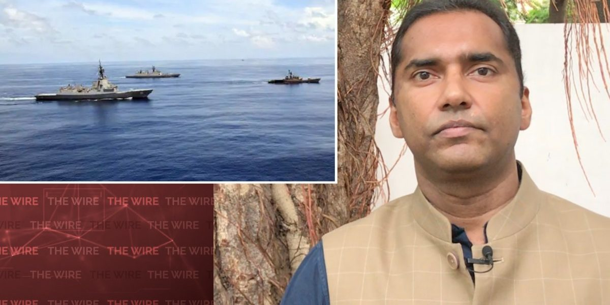 Watch | To Check China, India Must Develop a Maritime Grand Strategy