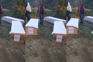 Kashmir: Bodies of Three Rajouri Youth Killed in 'Encounter' Exhumed