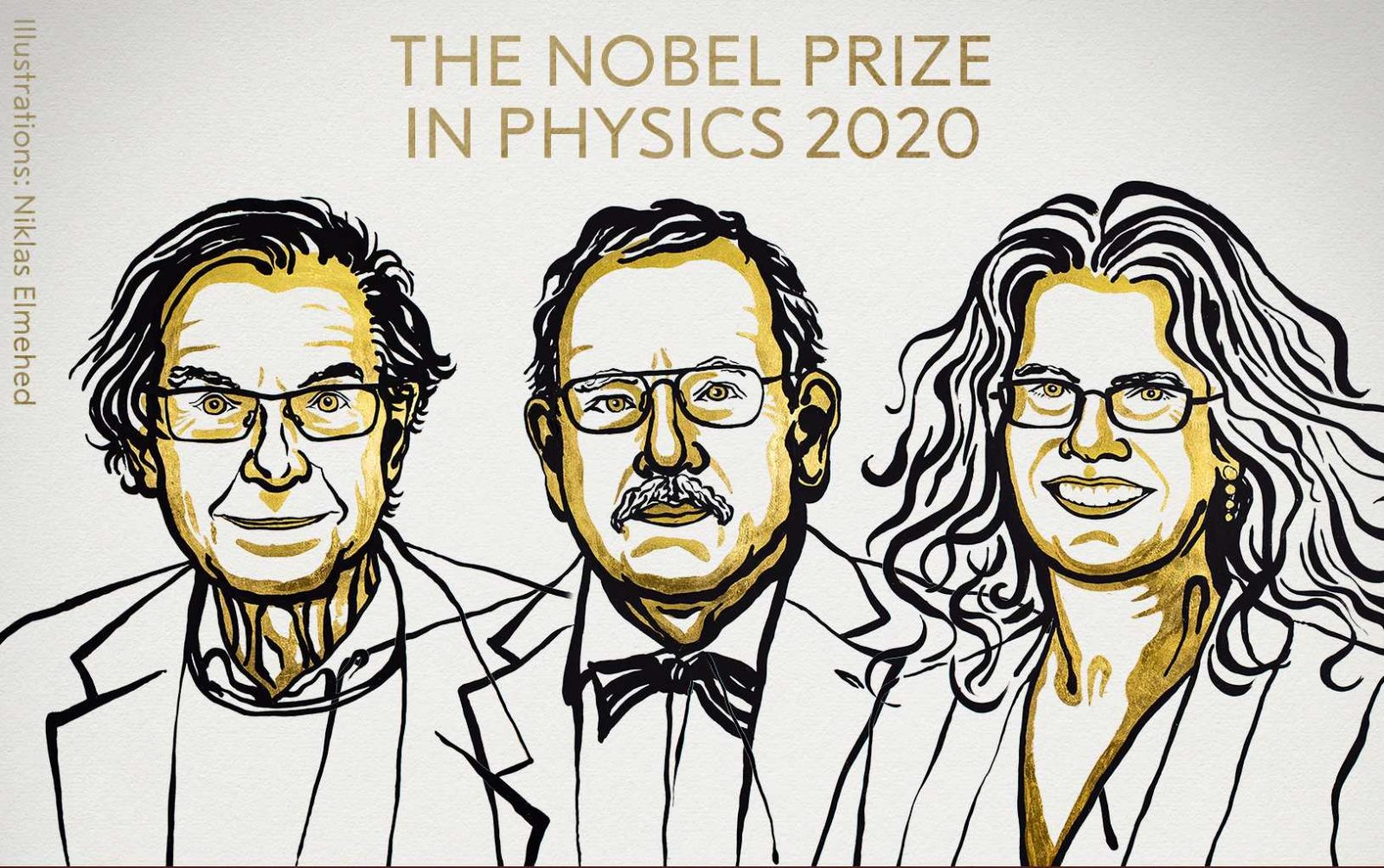 Black hole discoveries earn three scientists a Nobel Prize in Physics