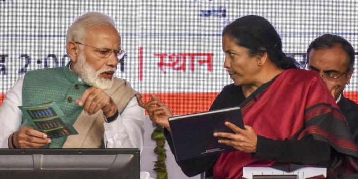 Nirmala Sitharaman Narendra Modi