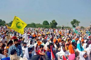 Murmurs of Dissent in JJP as Protests Continue Against Haryana Deputy CM for Supporting Farm Bills