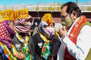 The BJP Is Using Union Ministers to Campaign in Ladakh – a Region With Only 89,000 Voters