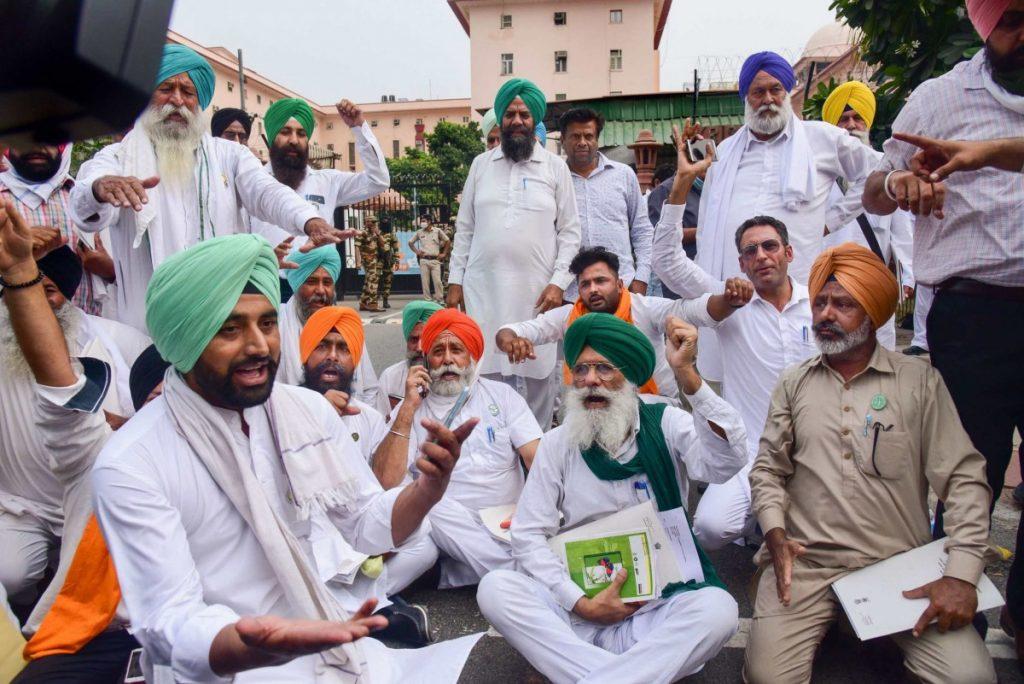 Punjab farmer protests