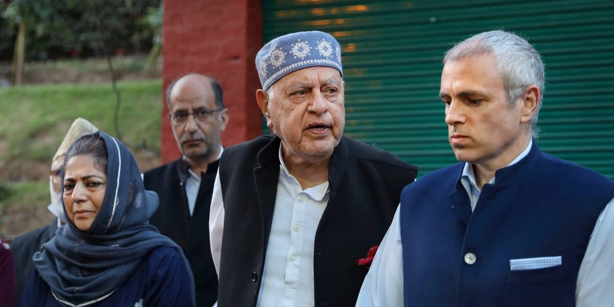 J&K Political Parties Form Alliance to Fight 'Unconstitutional' Removal of Special Status