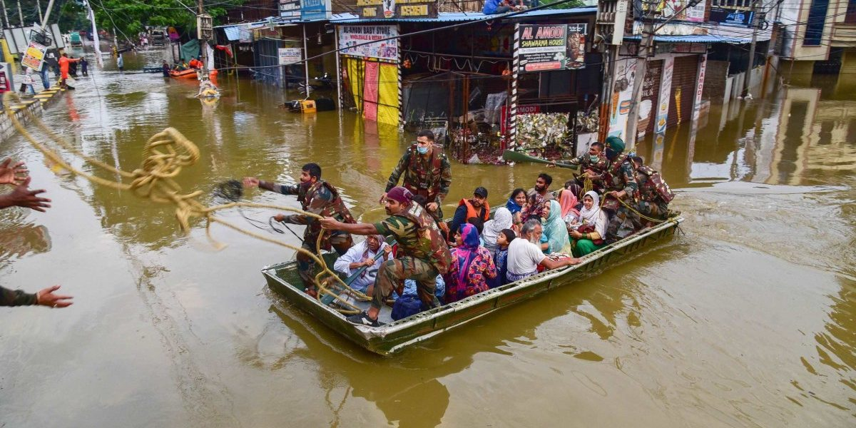 Years of Poor Urban Planning Contributed to the Hyderabad Flash Floods