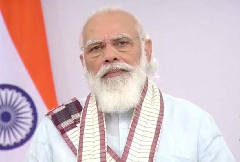 In Short Speech, PM Modi Repeats COVID-19 Warnings for Festive Season