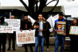 NRIs in New Zealand Protest Against Hathras Brutality, Farm Laws and Decline of Rights in India
