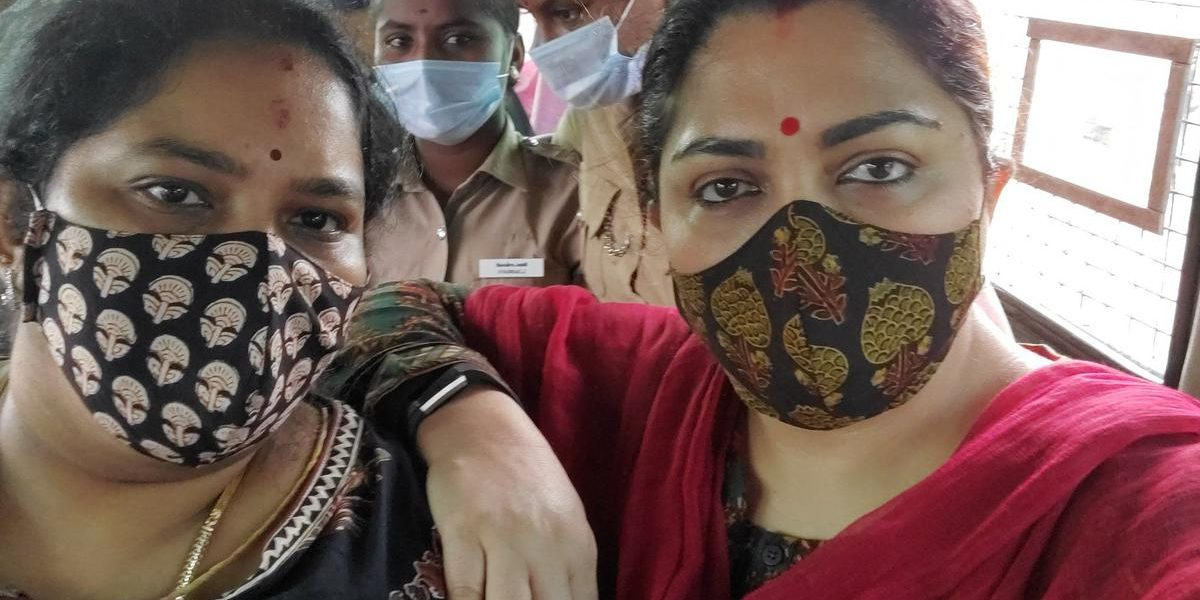 Khushbu Sundar Detained on the Way to Protest Against VCK Chief Over Manusmriti Row