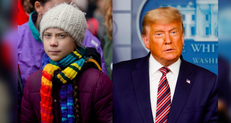 'Chill, Donald, Chill': Greta Thunberg Tweets Using Donald Trump's Own Jibe Against Him