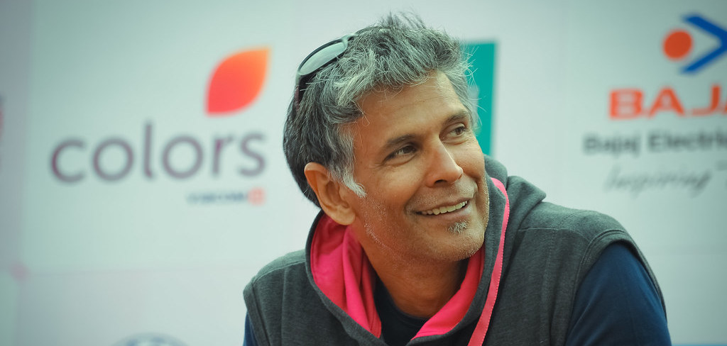 Model Milind Soman Booked for 'Obscenity' on Goa Beach