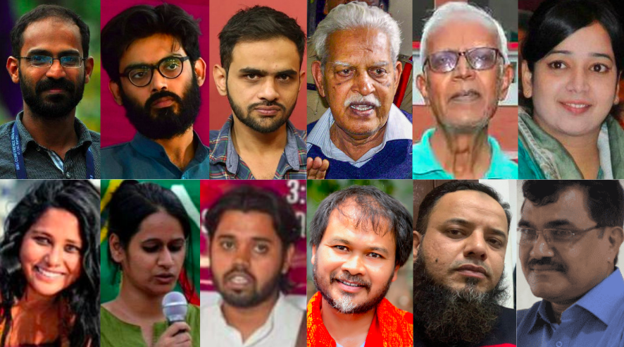 A List of Activists, Scholars and Scribes Whose Personal Liberty Remains at Judiciary's Mercy