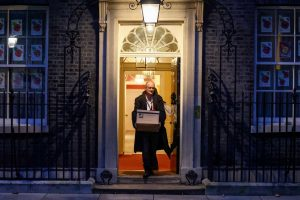 Boris Johnson Throws Out His Old Allies in 10, Downing Street Crisis