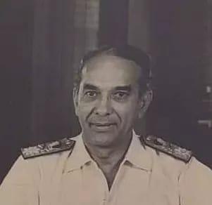 Vice Admiral John Thomas Goslin Pereira