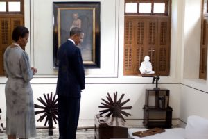 Gandhi's Ideas Set Off A Moral Change That Pulsed around The Globe: Obama