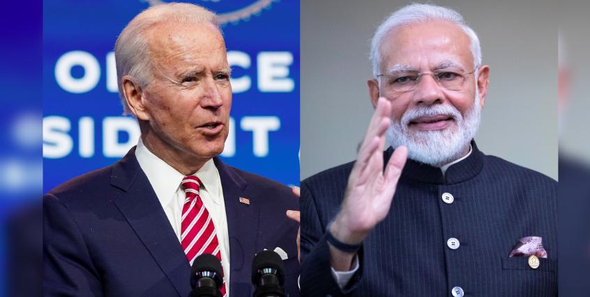 In Phone Call, Modi Calls Biden Victory 'Testament to Strength of US Democratic Tradition'