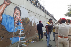 Guwahati Police Pick Up 4 Artists For Drawing Mural of Akhil Gogoi