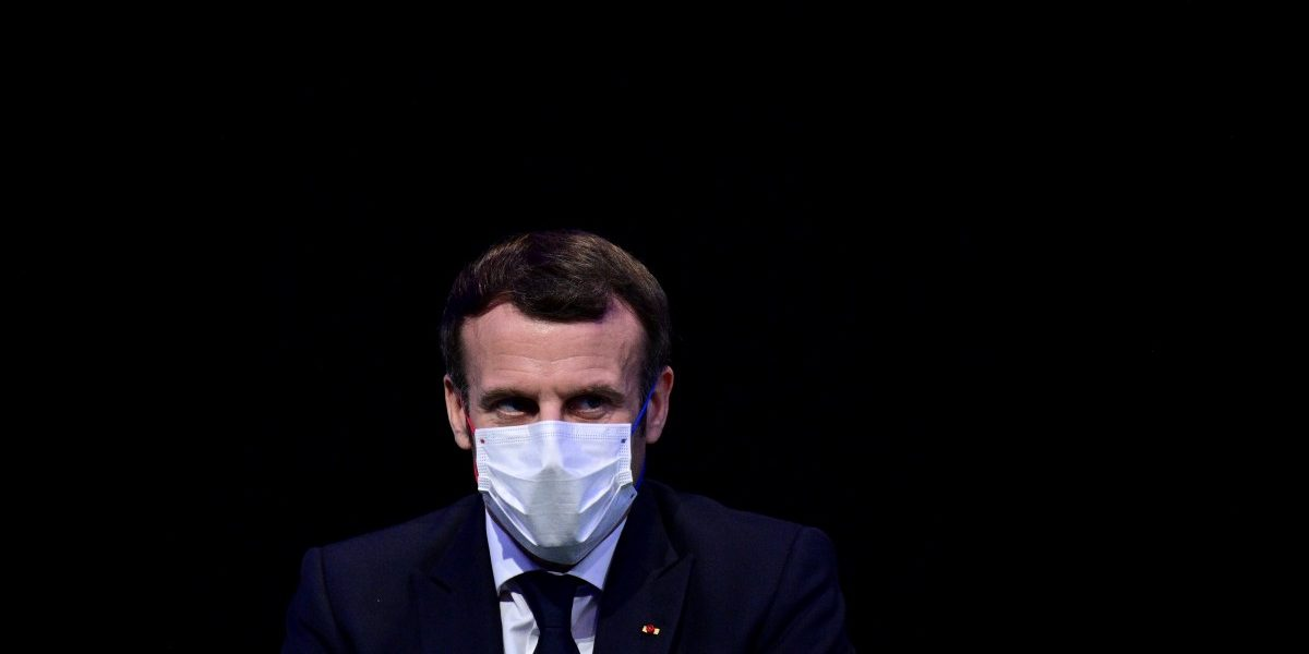 France's Macron Tests Positive For COVID-19, Self Isolates