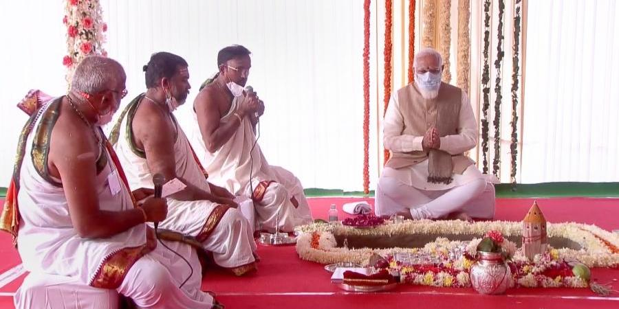 How Modi's Parliament 'Bhoomi Pujan' Breached the Constitution's Basic Structure