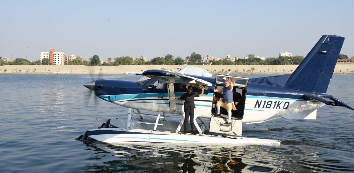 PM's Much-Touted Seaplane Service in Gujarat Fails to Take Off