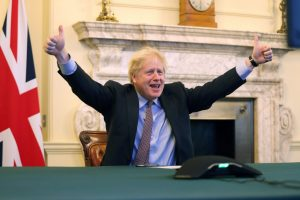 Brexit Done, Boris Johnson Faces COVID-19 Crisis and Dwindling Respect