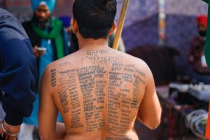 From CAA to Farmers' Protest, the Changing Colours of the Hindutva Activist With Pulwama Tattoo