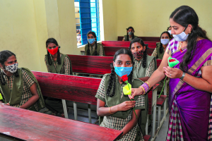 Government Teachers Are Performing Frontline Duties, but Denied That Status