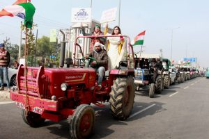 Farmers' Republic Day Tractor Rally May Feature Tableaus From Different States