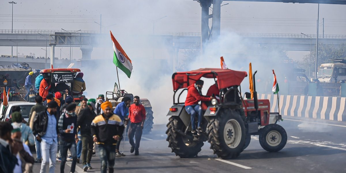 Samyukta Kisan Morcha Disassociates Itself From Groups Which Violated Tractor Rally's Route