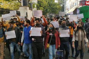 Watch | Journalists Protest Against Arrest of Mandeep Punia