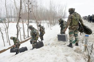 Amid Biting Cold, Military's Cordon and Search Operations Continue in Kashmir