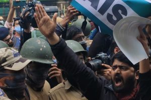 Watch | Delhi Police Stop Students and Activists' March in Support of Protesting Farmers