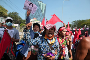 Myanmar: Protests Continue, Suu Kyi Remanded to Custody Till Wednesday