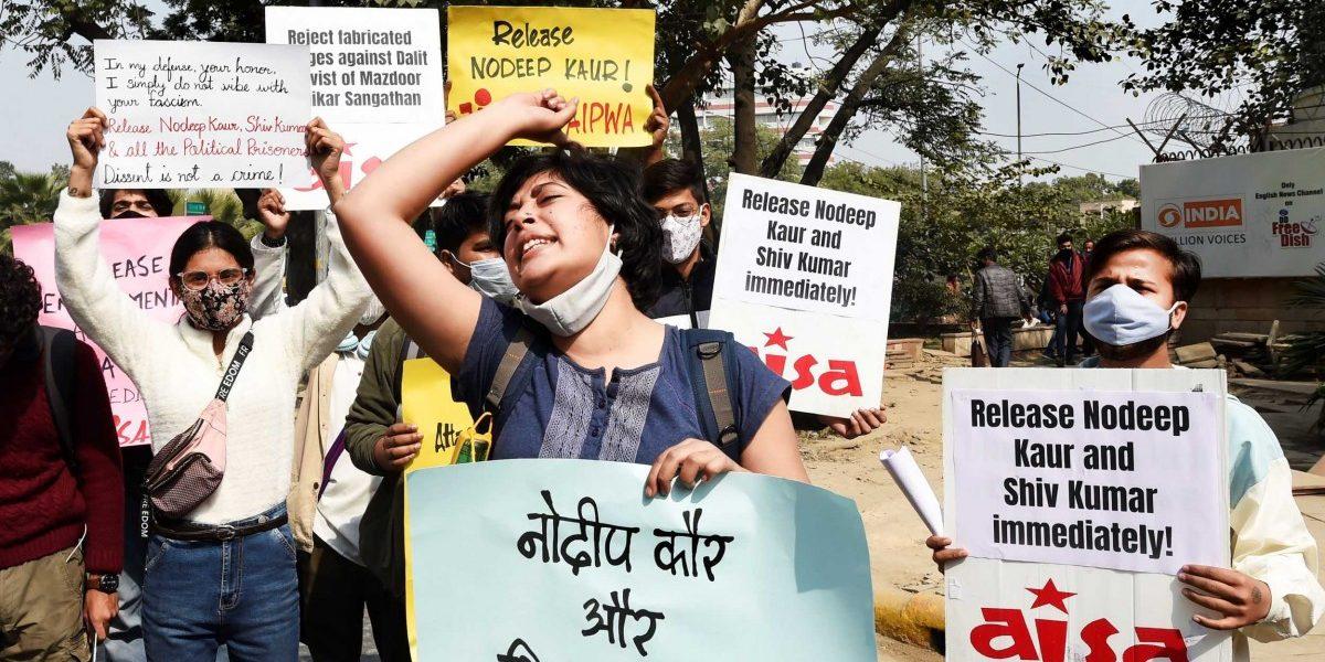 Labour Rights Activist Nodeep Kaur Gets Bail in Second Case