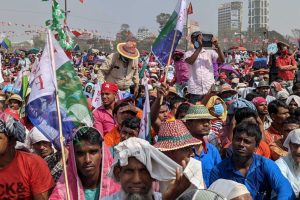 West Bengal: In Left-Congress Brigade Ground Rally, ISF Emerged as the Biggest Mobiliser