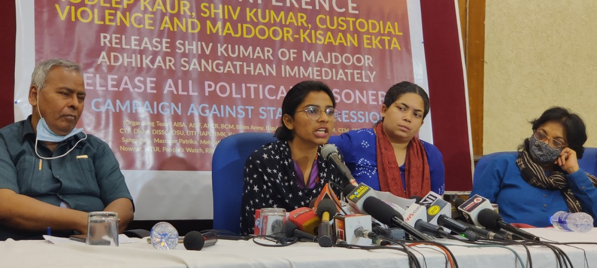 Indiscriminate Arrests Show That the State Is Scared: Nodeep Kaur