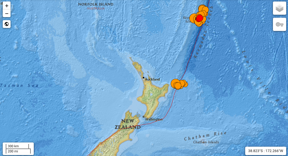 Powerful Earthquakes Strike New Zealand in Quick Succession – The Wire Science