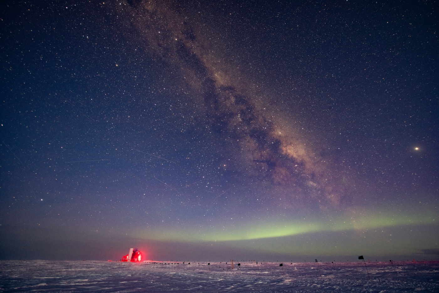 Antarctic Telescope Finds Sign of Physics Phenomenon Predicted 60 Years Ago - The Wire Science