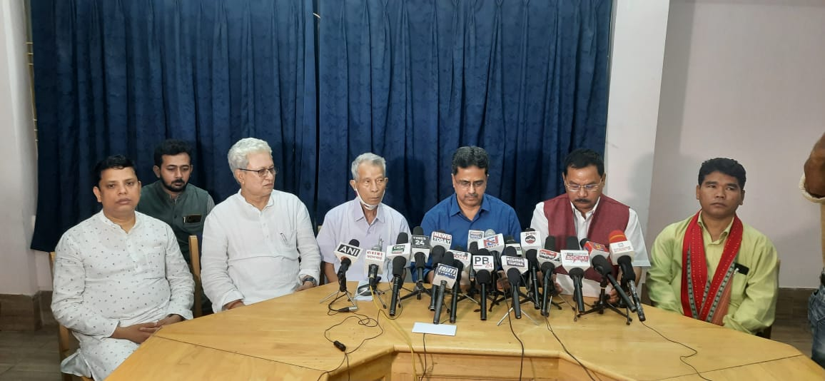 Tripura: IPFT Ditches Alliance, To Contest District Council Poll With BJP