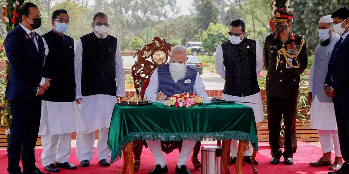 Modi in Bangladesh: PM Talks of Fight Against Terror, His Own Participation in Liberation Protests