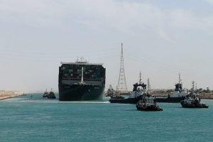 Egypt Impounds Ever Given Megaship Over Suez Compensation Claim