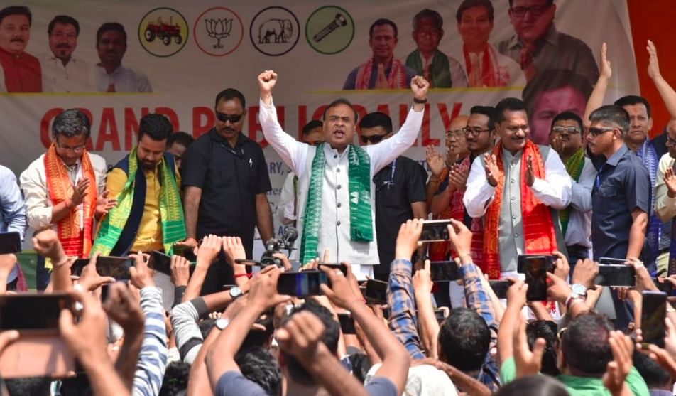 EC Bars Himanta Biswa Sarma From Campaigning for 48 Hours for Threatening BPF Chief