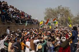 Samyukt Kisan Morcha Says Many Farmers Injured in Haryana Police Lathicharge