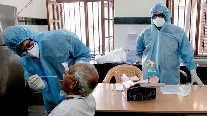 India Records 96,982 New COVID-19 Cases, 446 Fresh Fatalities