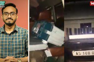 Watch | EVM Found in BJP Candidate's Car in Assam