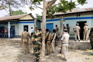 Five Killed on WB Poll Day: 'Genocide,' Says Mamata; 'Blame CM for CISF Attack' Says Amit Shah