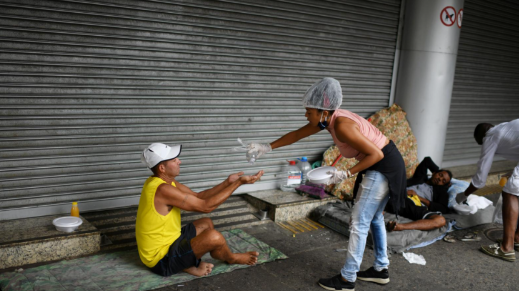 Hunger Haunts Millions in Brazil as Billionaires Roll in Cash Amid COVID Pandemic