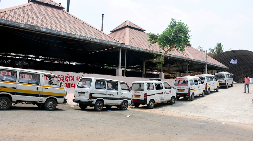 In Surat, Crematoria Stagger Under Rush But Official 'COVID-19 Death Count' Remains Low
