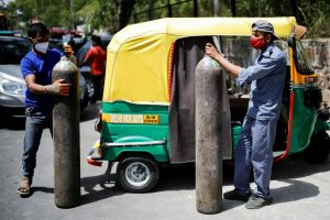 Real and Imaginary Shares in Oxygen Rally as India Battles Virus Surge