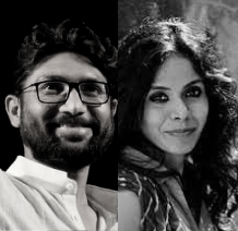 Jignesh Mevani and Meena Kandasamy