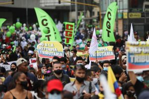 Thousands of Colombians March To Protest Tax Proposals